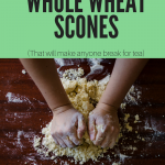 scones, whole wheat scones recipe