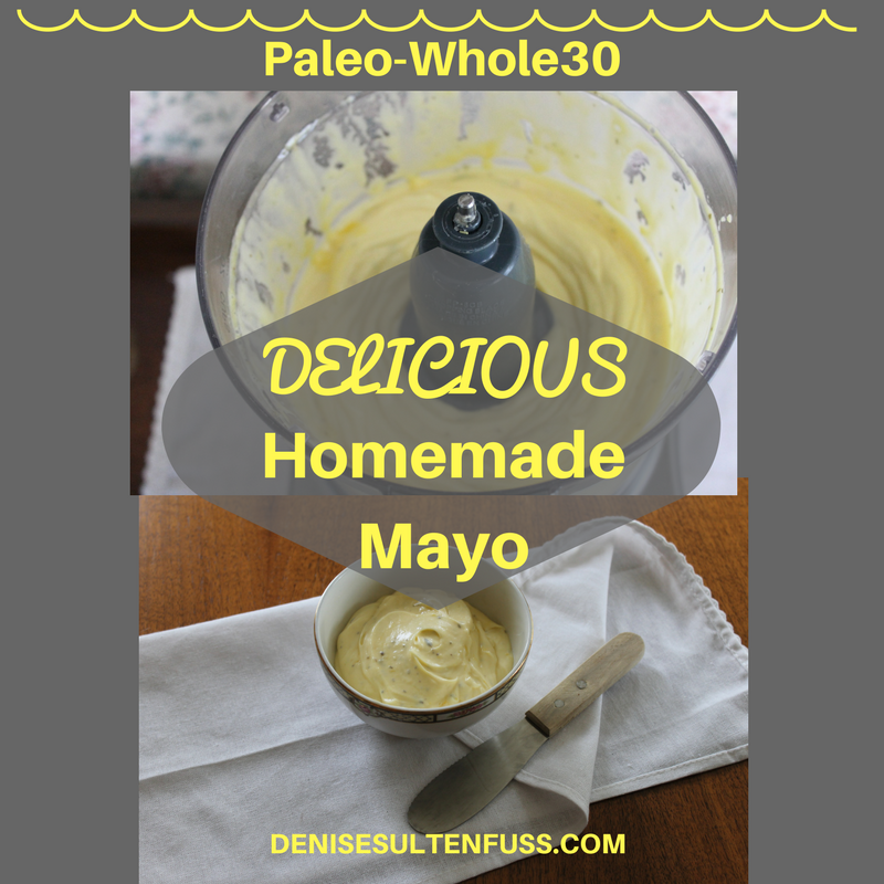 real food, meayonnaise, whole30, paleo