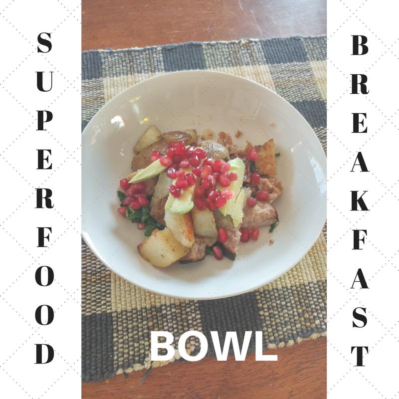 breakfast bowl, real food