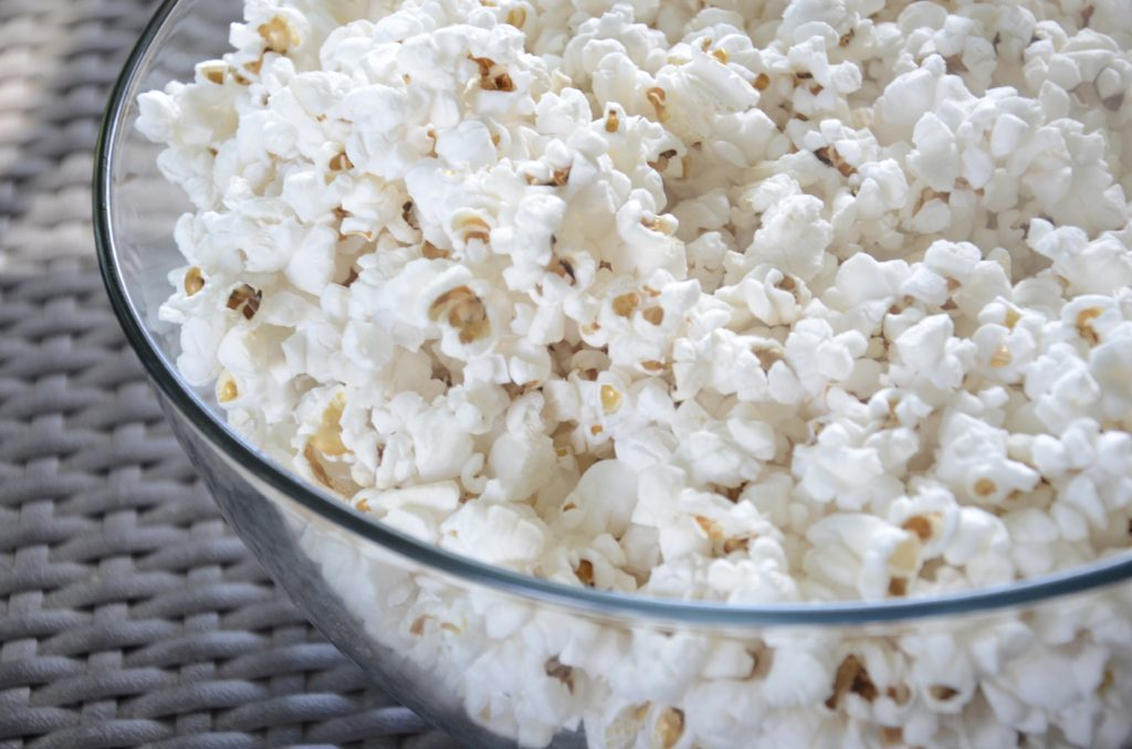 popcorn, realfood, homemadepopcorn