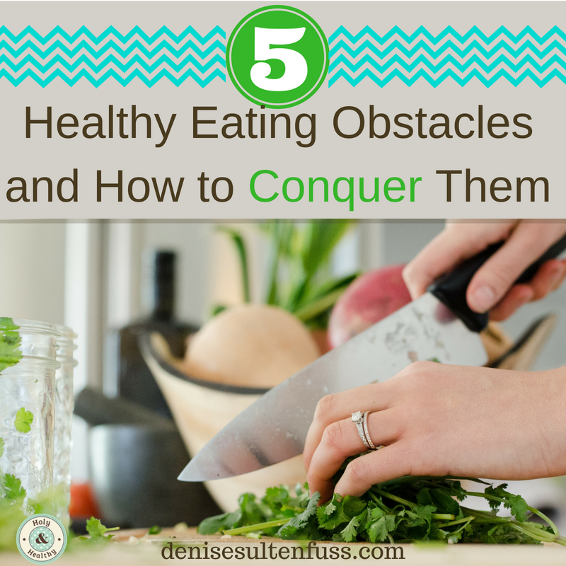 obstacles to healthy eating